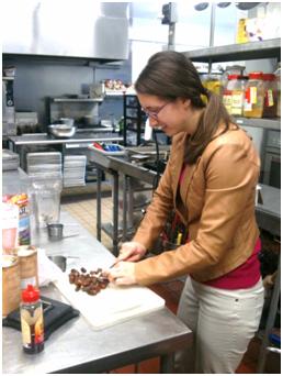 Alyssa Guminksy in GG Kitchen